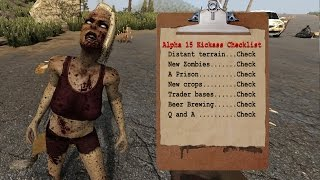 Alpha 15 distant terrain zombies and farming
