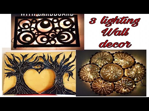 Cardboard crafts | handmade things | cardboard craft wall hanging | Fashion pixies