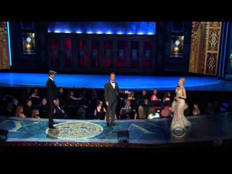 Andrew Rannells, Megan Hilty, Laura Benanti - Tony Awards 2013