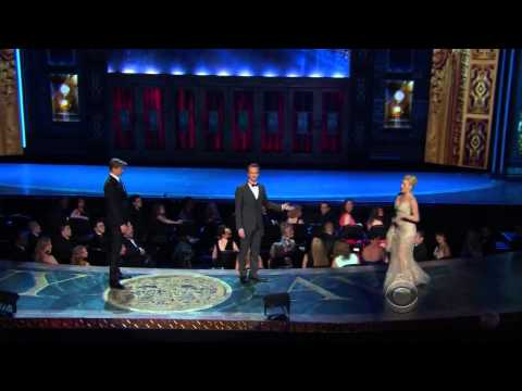Andrew Rannells, Megan Hilty, Laura Benanti  Tony Awards 2013