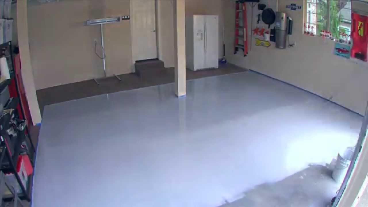 paint how picture garage floor to orig home