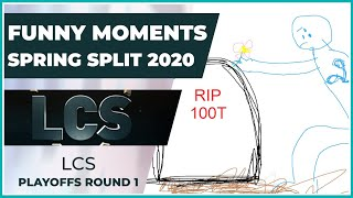 Funny Moments - LCS Playoffs Round 1 - Spring Split 2020