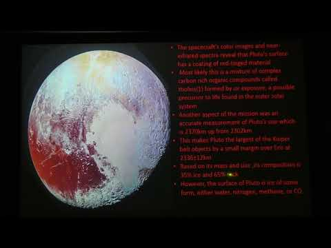 Exploring Our Solar System: Pluto and Mars Revealed: Presented by Mike Adler