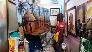 01   AGBO, Denis   Marché artisanal de Lomé