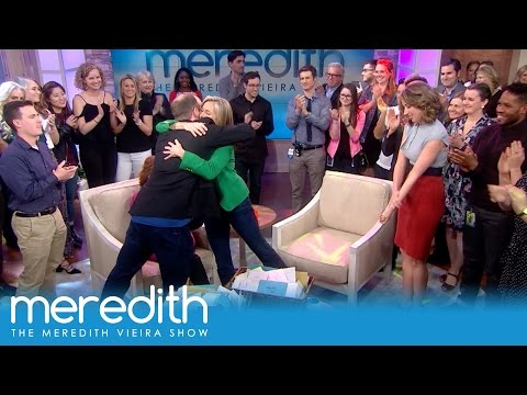 Joy Behar Helps The Staff Surprise Meredith!   The Meredith VIeira Show