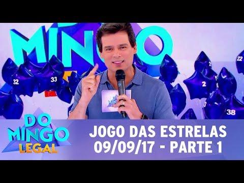 Jogo das Estrelas com youtubers - Parte 1 | Domingo Legal (10/09/17)
