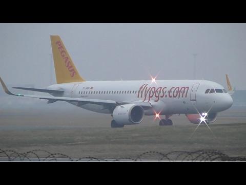 1 Hour, Plane Spotting at Copenhagen Airport, CPH (Inc. A320 NEO's)