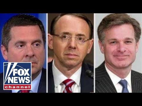 Devin Nunes threatens to impeach Wray, Rosenstein