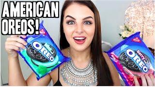 One of BRITTNEYLEESAUNDERS's most viewed videos: AUSTRALIAN TRIES AMERICAN OREOS ! Taste Test!