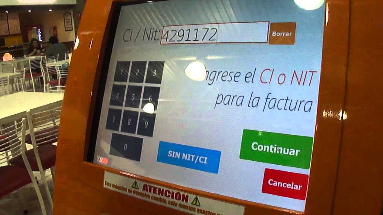 Primera maquina para recargas de credito en Bolivia - YouTube
