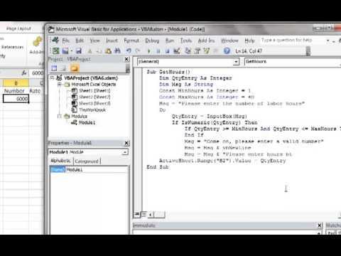 custom textbox validating user input