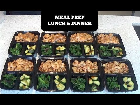 HOW TO MEAL PREP FOR THE WEEK : EASY & HEALTHY -  LUNCH & DINNER
