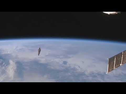 НЛО наблюдение с космических станций