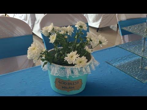 Bucket of Flowers Centerpiece Idea | Event Decor| SimplyPretty Creations