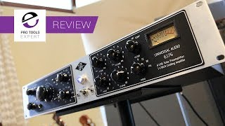 Review - Universal Audio 6176 Tube Preamplifier & 1176N Limiter