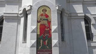 Свято- Георгиевский женский монастырь в гор.Ессентуки Ставропольского края. Поездка на машине.