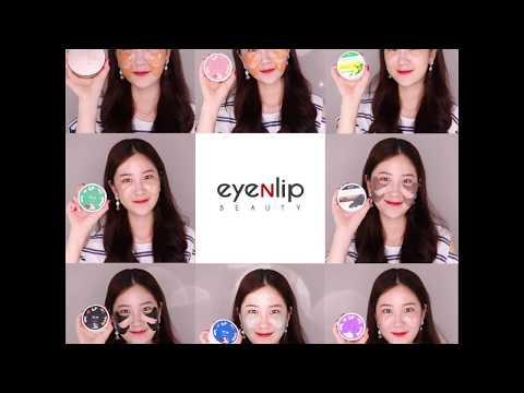 [EYENLIP] Hydrogel Eye Patch 8 Types 84g (1.4g * 60ea)