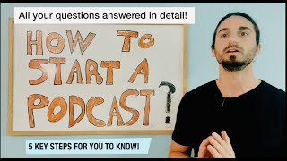 How to Start a Podcast in 2021 | Full Tutorial for Beginners