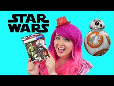 Star Wars Magic Ink Coloring & Activity Book Imagine Ink | KiMMi THE CLOWN