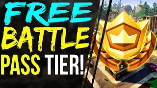 Fortnite SECRET HIDDEN BATTLE STAR FREE Battle Pass Tier