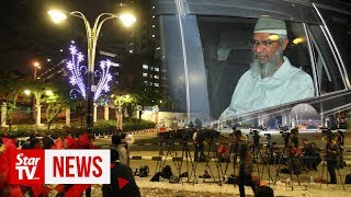 Zakir Naik still in Bukit Aman even after nine hours of questioning