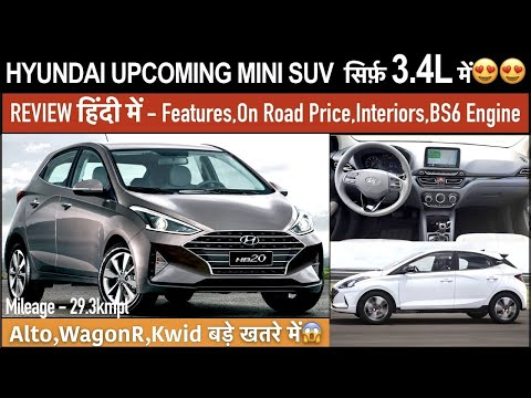 Hyundai Ax Micro Suv Ax Mini Suv Launch Date Expected Price In India Interior Images Youtube