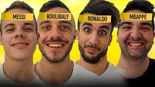 ⚽ CHI è il GIOCATORE sulla FRONTE? INDOVINA il CALCIATORE!! w/ FIUS GAMER, ENRY LAZZA e TATINO