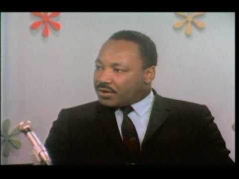 Martin Luther King Jr Interview (Part 1 of 3)