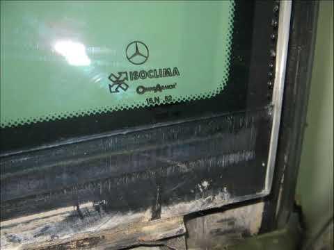 Стекло двери бронированное W140 Мерседес Z07