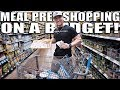WEEKLY MEAL PREP GROCERY SHOPPING FOR UNDER $50 | Bodybuilding On A Budget