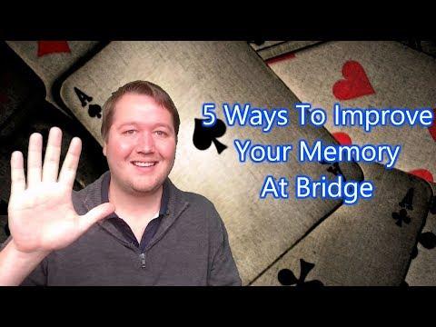 5 Ways To Improve Your Memory At Bridge