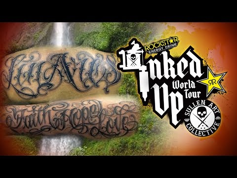 TATTOO CONVENTION COVERAGE - Rockstar Inked Up Tour Portland 1 of 2