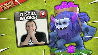 Yeti Smash AFTER the Balance Changes! How to use Yeti TH13 Attack Strategy (Clash of Clans)