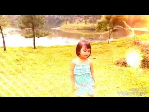 Kakak Anjani bikin klip lagunya Kak Romaria Mama Kaulah Bintang