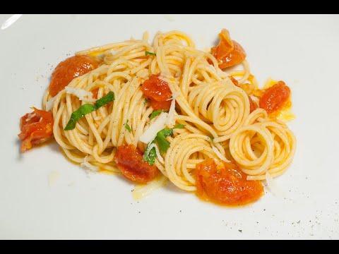 Spaghetti mit Tomatensoße Rezept mit der Thomas Sixt Chefkoch Anleitung genial lecker kochen