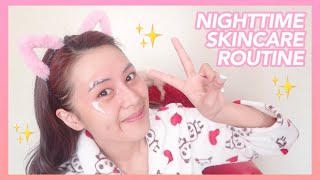 Nighttime Skincare Routine (Mommy Myra Does My Voice-over) | Eunice Santiago