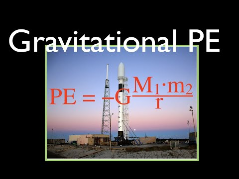 Gravitation (9 of 17) Gravitational PE at the Surface of the Earth