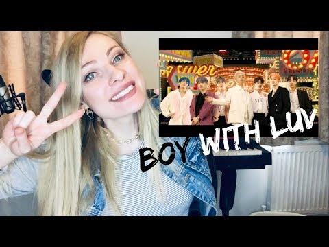 BTS (방탄소년단) '작은 것들을 위한 시 (Boy With Luv) feat. Halsey [Musician's] Reaction & Review!