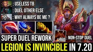 Monster Duel 7.20e [Legion Commander] New Duel Rework Makes LC Invincible 23KIll With Scepter Dota 2