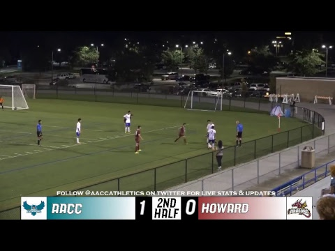 MSOC: 10/2/2018 AACC Riverhawks vs. Howard Community College Dragons