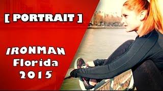 Portrait de Marine qui va participer à son premier Ironman en Flori...