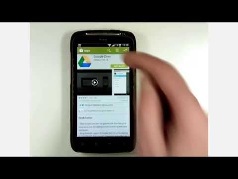 Google Drev App