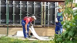 Газовая труба как обойти трубу  фасадными панелями Альта Профиль