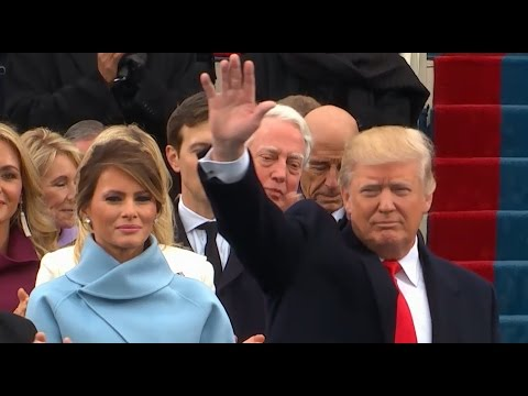 Download Youtube: Trump Arrives at Presidential Inauguration