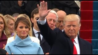 Trump Arrives at Presidential Inauguration
