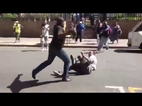 Xenophobic attack in Downtown Johannesburg