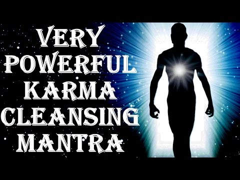 BEST KARMA CLEANSING FOR BAD KARMA EFFECTS : KARMA SHANTI MANTRA : VERY VERY POWERFUL !