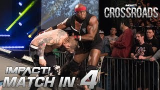 oVe vs Lashley: 2-On-1 Handicap Match: Match in 4 | IMPACT Crossroads Highlights Mar. 8 2018