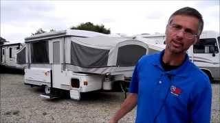 2003 FLEETWOOD COLEMAN CHEYENNE POP UP CAMPER AC HEAT RV TRAILER FOLDING TENT i94RV