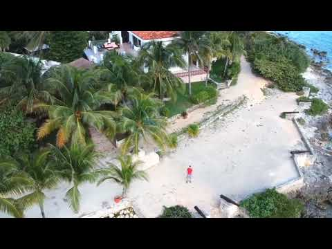 DRONE TIME On The Beach Secrets Akumal Mexico